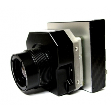Thermal camera with onboard recording module